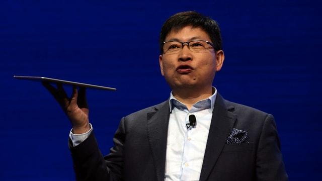 Richard Yu, CEO der Huawei Consumer Business Group