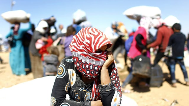 Fugitivs da la Siria.