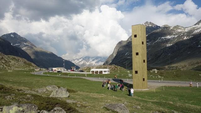 Dapi venderdi è la tur al Pass dal Güglia accessibla per il public.