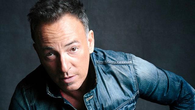 Bruce Springsteen im Porträt.