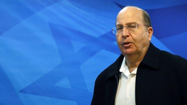 Mosche Jaalon, il minister da defensiun da l'Israel.