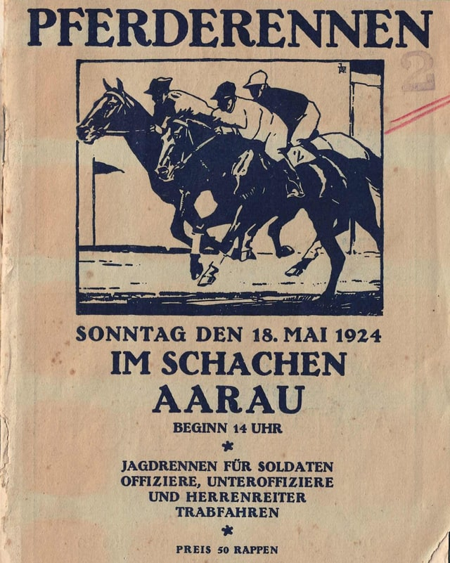 Ein Flyer von 1924.