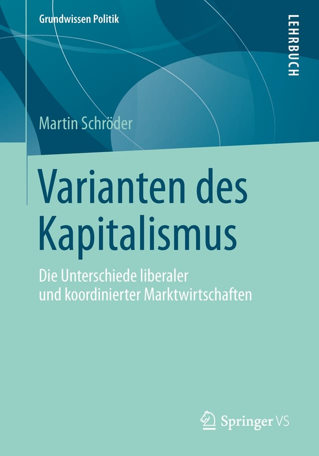 Varianten des Kapitalismus