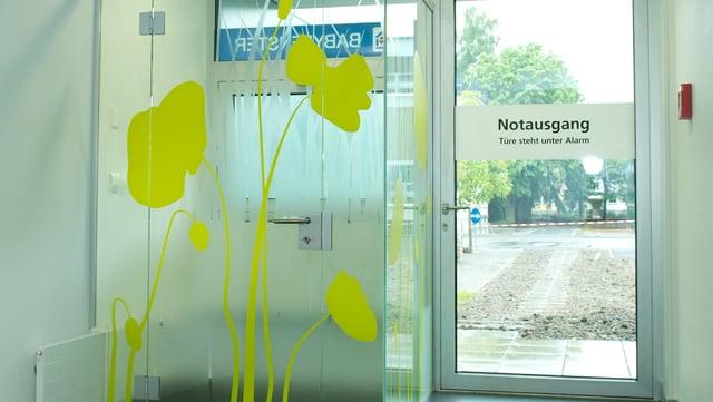Das Babyfenster im Spital Olten.