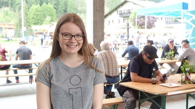 Andrina Michael, l'organisatura dal festival.