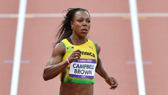 Veronica Campbell-Brown darf in nächster Zeit keine Rennen laufen.