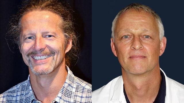 Portraitaufnahme der beiden Experten