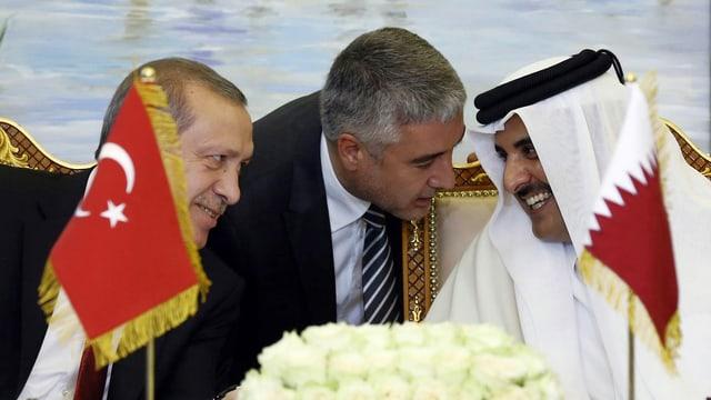 Erdogan und Al Thani