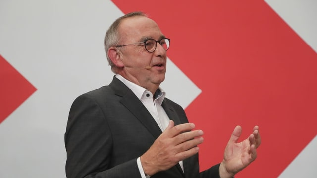 Norbert Walter-Borjans am Wahl-Anlass der SPD am 26.9.2021 in Berlin.