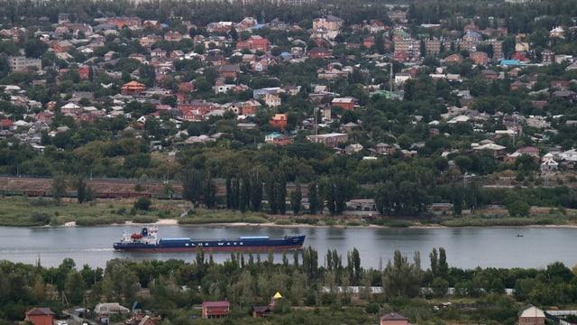 Rostov al Don, chasas e flim cun bartga da vitgira.