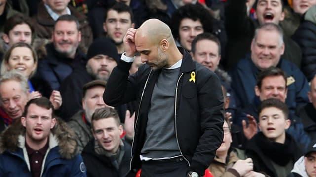 Pep Guardiola im Spiel gegen Crystal Palace