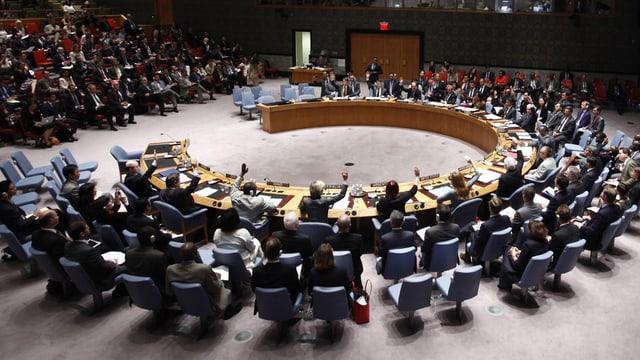 il cussegl da segirezza da l'ONU