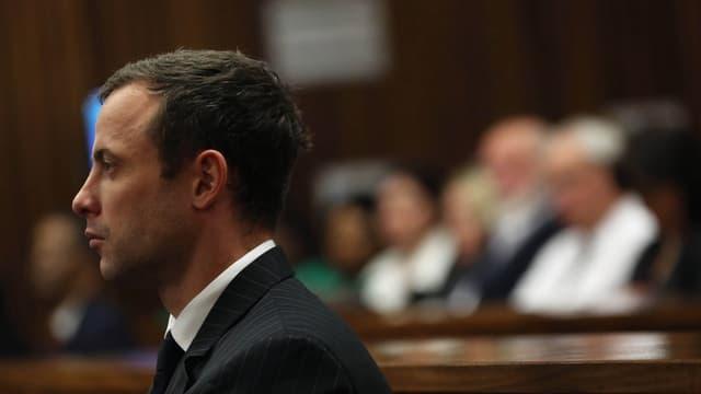 Seitenaufnahme von Oscar Pistorius