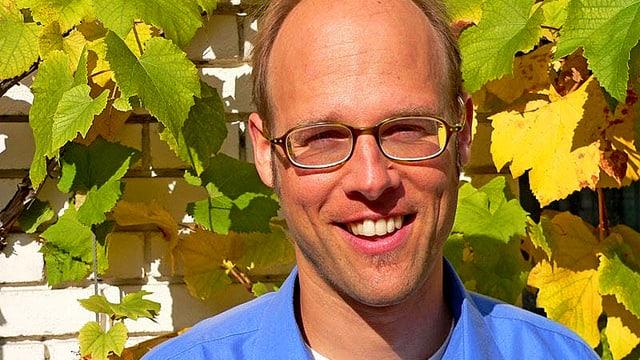 Portrait des Landwirtschaftsexperten und Pro-Natura-Projektleiter Marcel Liner im Zusammenhang mit dem Agrarbericht 2014.