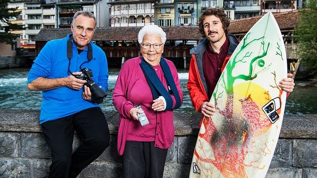 Video «Fiirabig in Thun – von Wellen und Steinböcken» abspielen