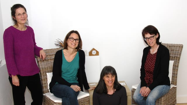 Foto da las 4 terapeutas.