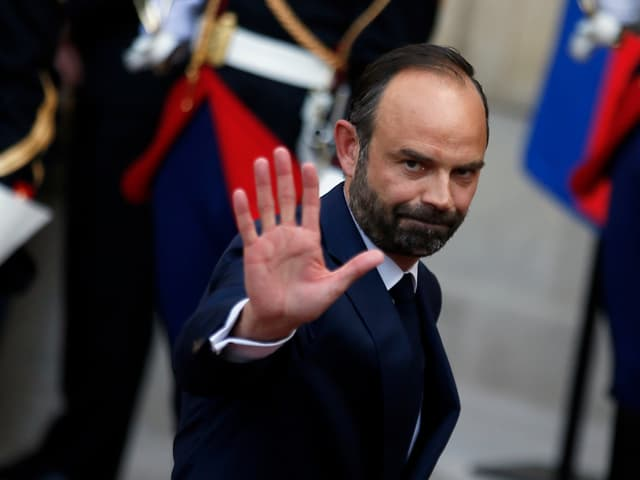 Frnkreichs Premierminister Edouard Philippe.