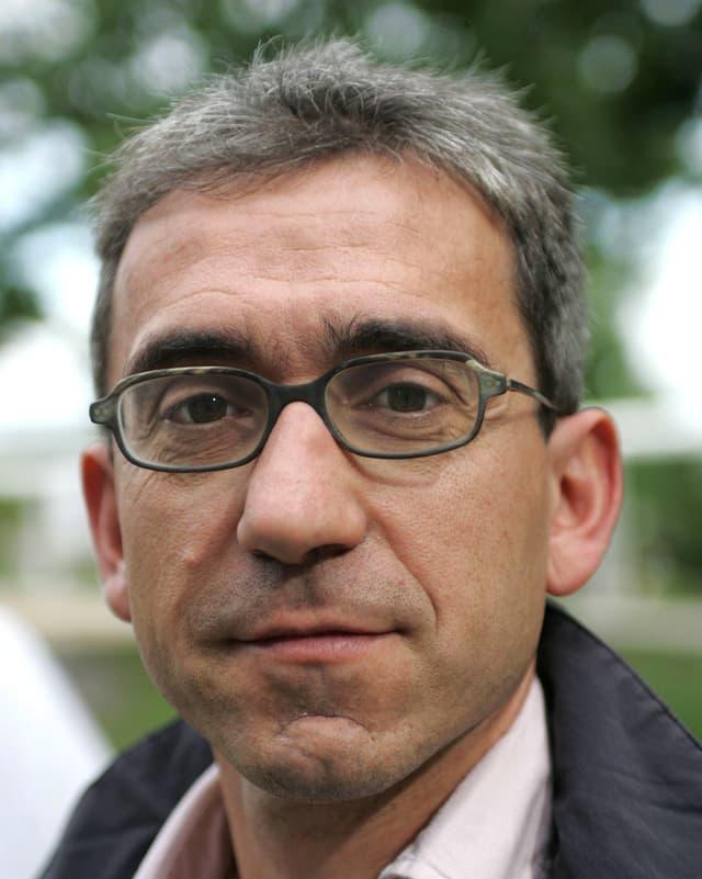Der Solothurner Schriftsteller Franco Supino.