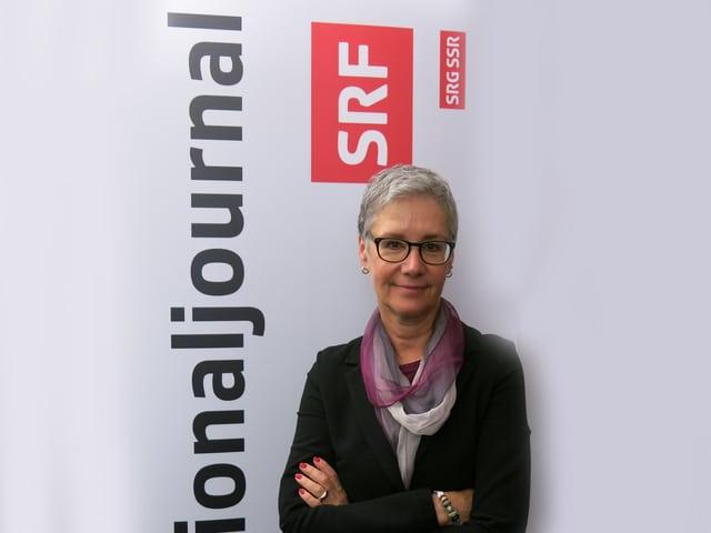 Andrea Strahm, Präsidentin der Basler CVP.