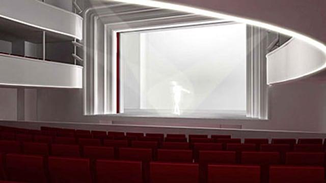 So soll sich das Stadttheater Solothurn nach dem Umbau präsentieren.
