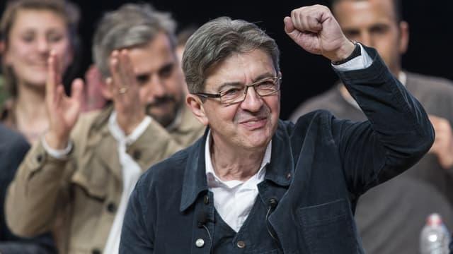 Jean-Luc Mélenchon, il candidat da la sanestra extrema.