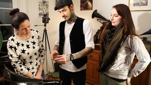 Video «Das Grammophon – Ein musikalisches Schaustück» abspielen