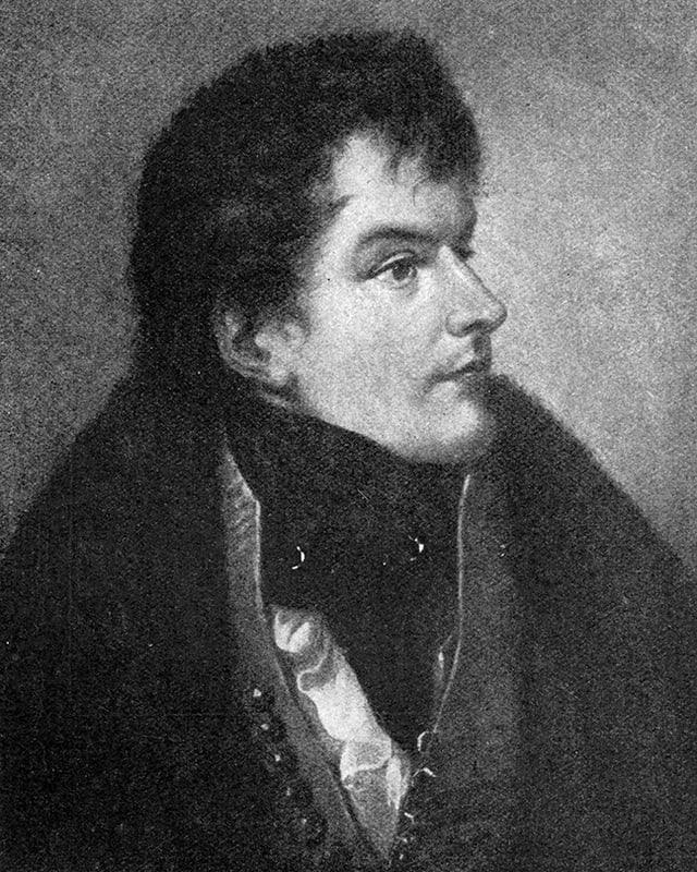 Porträt George Bryan Brummell