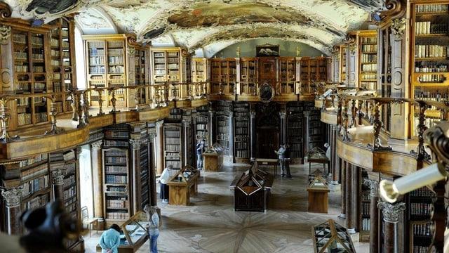 Die St. Galler Klosterbibliothek