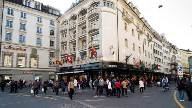 Schwanenplatz Luzern - das Tor zur Altstadt