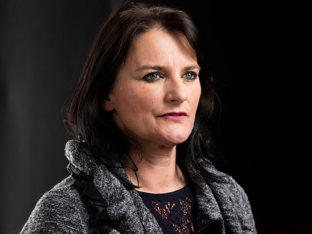 Die Grüne Nationalrätin Christine Häsler