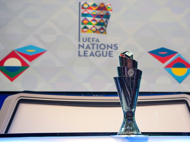 Nations League Trophy
