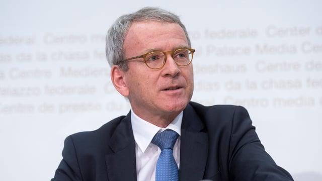 Adrian Lobsiger, incumbensà federal per la protecziun da datas e transparenza