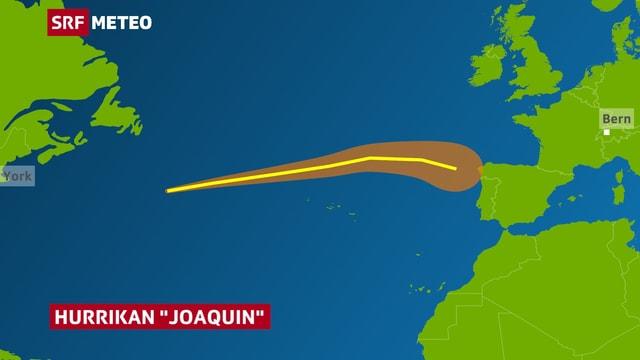 Joaquin erreicht am Samstag Portugal