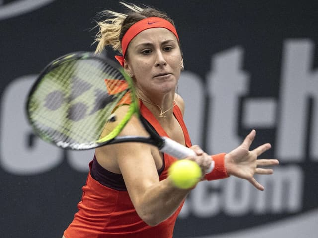Belinda Bencic beim WTA-Turnier in Luxemburg