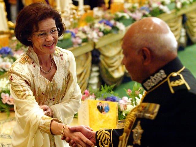 Die Mutter der Kronprinzessin von Brunei
