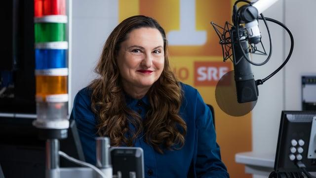 Heidi Ungerer moderiet den neuen SRF-Podcast «Generationentalk».