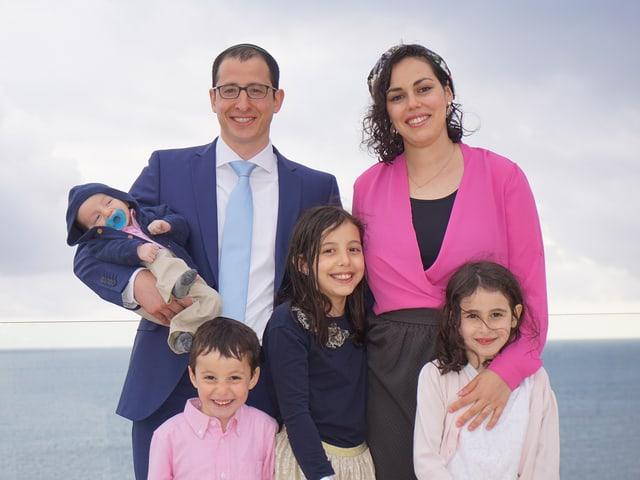 Familie von Doron Schächter: vier Kinder.