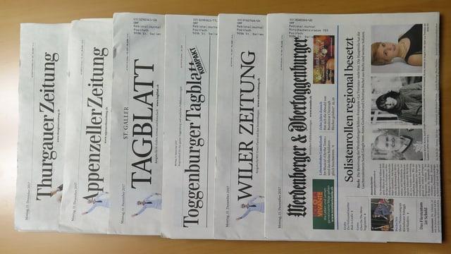 Ostschweizer Zeitungen