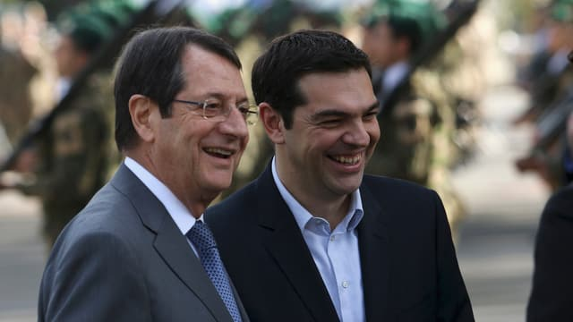 Tsipras und Anastasiades