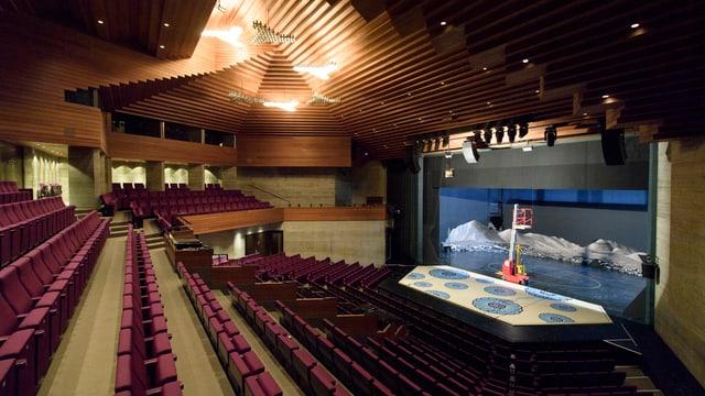 Blick in den Zuschauerraum des Theater St. Gallen