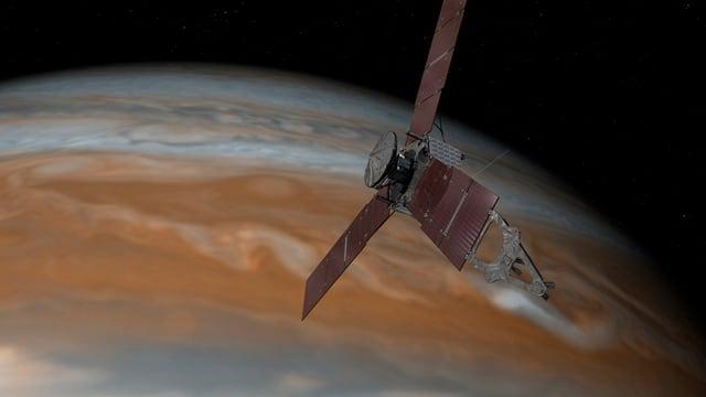 La sonda «Juno» avant il Jupiter.