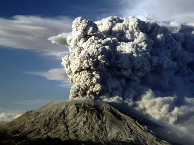 Rauchender Mount St. Helens