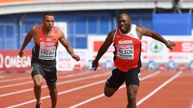 dus sprinters en acziun