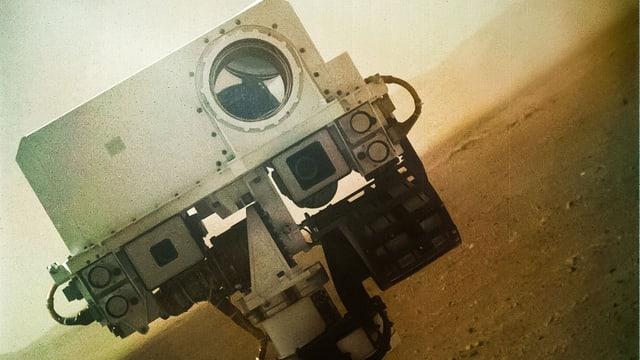 Selfie vom Mars-Rover Curiosity.