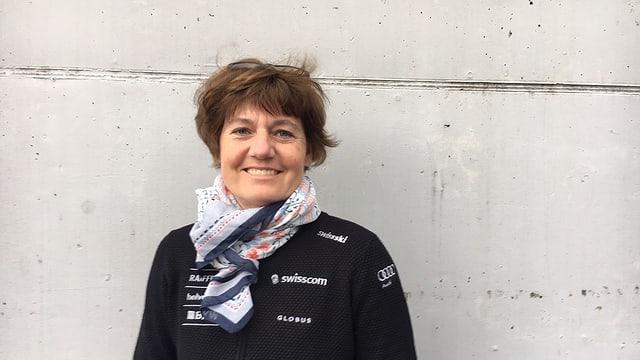 Disziplinenchefin Pia Göhring Birchler setzt sich für den Nachwuchs in den nordischen Disziplinen ein