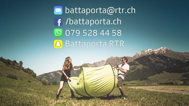Laschar ir video «Gailira! Tickets e tendas per l'Open Air Lumnezia 2016!»