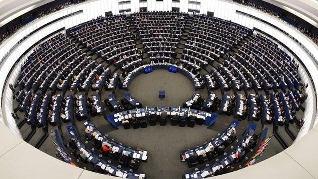 EU-Parlamentssaal in Strassburg