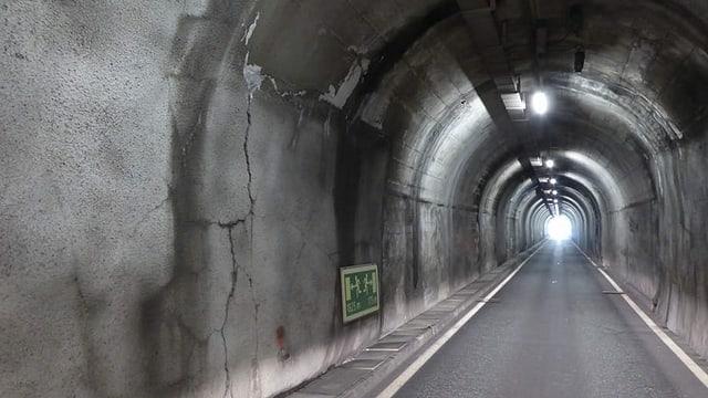 Il tunnel Munt la Schera