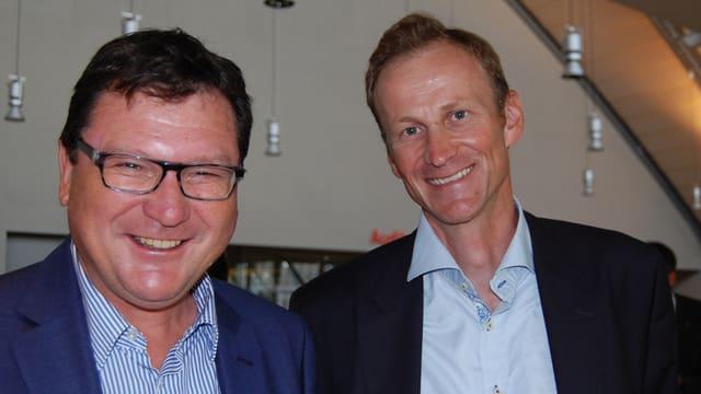 Markus Lergier und Martin Bachofner.