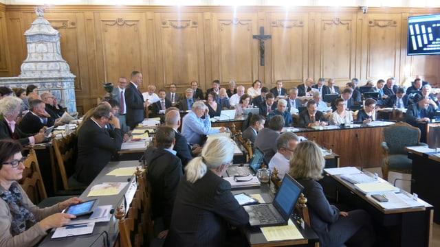 Das Kantonsparlament.